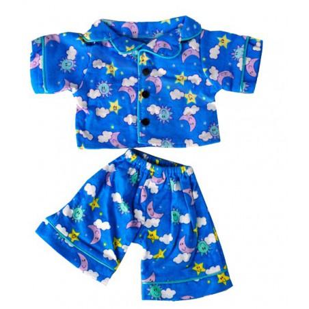 """Pyjama Bleu """"Sunny days"""""""