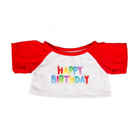 T-Shirt Anniversaire rouge