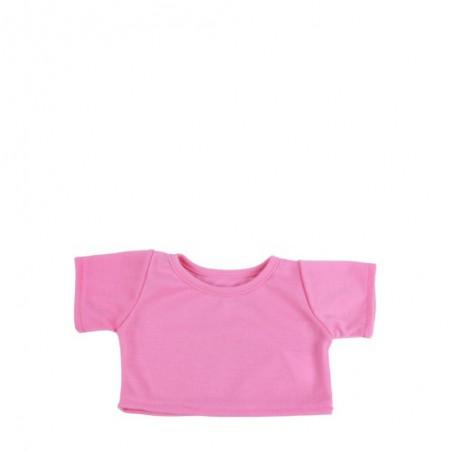 T-Shirt Rose pour peluche de 40 cm