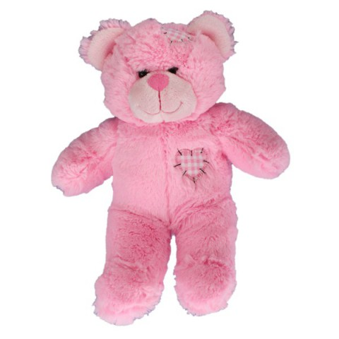 Coeur Rose l'ours 40 cm personnalisé