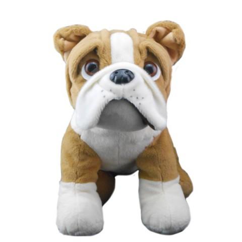 Buddy le Bulldog  40 cm personnalisé
