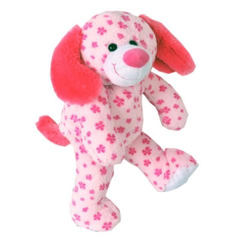 Daisy le chien rose