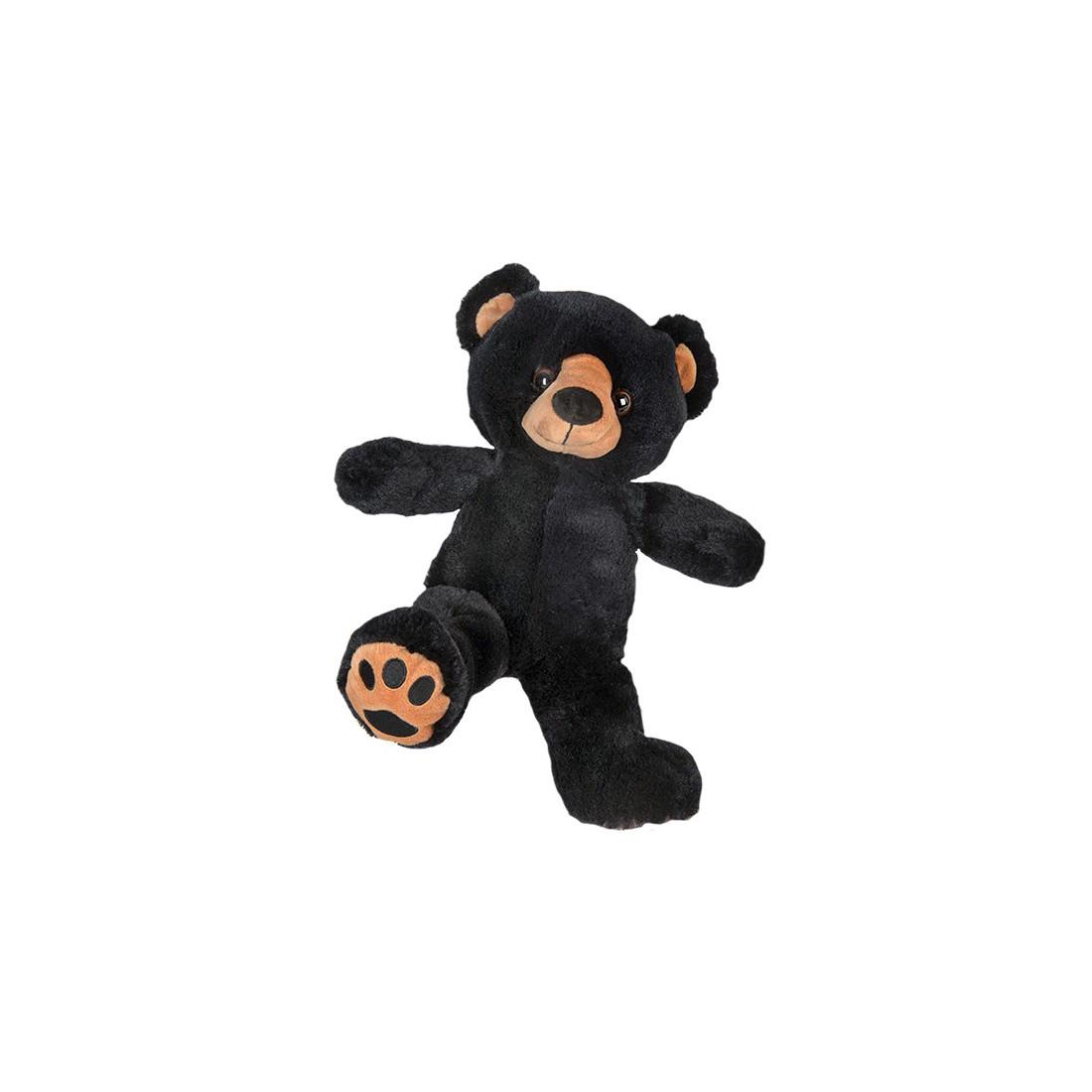 Benjamin l'ours noir 40 cm personnalisé