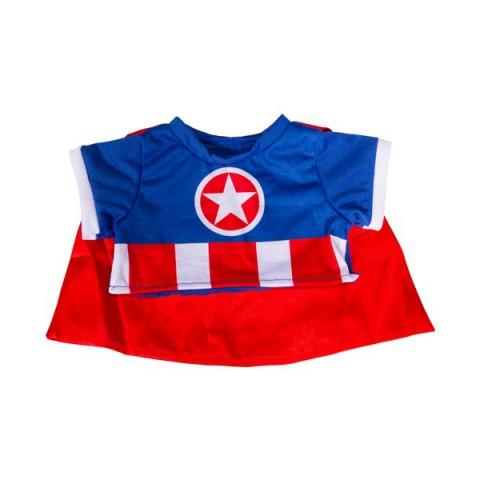 Tenue Captain America 20 cm