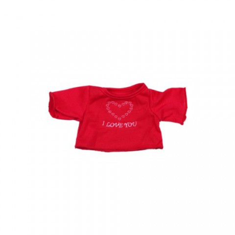 T-shirt Love heart 40 cm