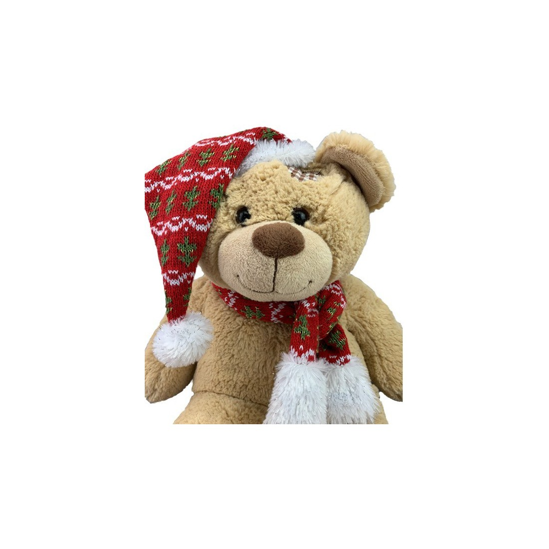 Bonnet et écharpe festive  , 40 cm