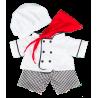 Tenue Chef De Cuisine. 40 cm