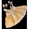 Robe d'été avec 2 nœud papillon pour nounours de 40 cm