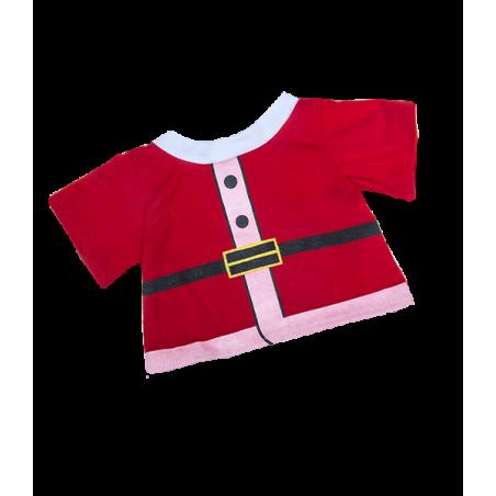 T-shirt Père Noël pour peluche de 40 cm