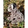 le léopard des neiges peluche de 40 cm
