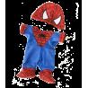 Combinaison spider pour peluche de 40 cm
