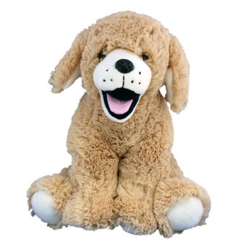 Goldie le chien 40 cm personnalisé