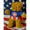 Tenue Captain America pour peluche de 40 cm