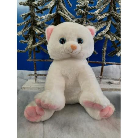 White Kitty Peluche à rembourrer De 40  cm