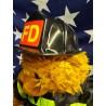 Tenue De Pompier Pour Peluche De 40  cm