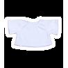 T-shirt BLANC pour peluche de 40 cm