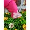 Jogging À Capuche Rose Avec Chaussure