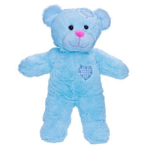 Baby blue l'ours 40 cm personnalisé