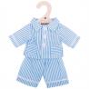 Pyjama Bleu Pour Poupon- Moyen