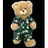 Pyjama Chiots Et Chatons Festifs Verts