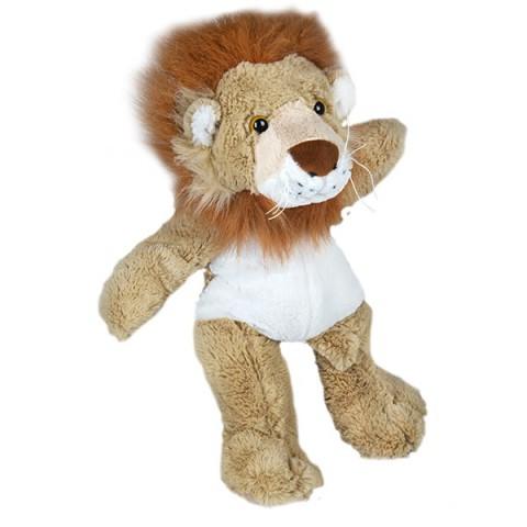 DAN LE LION  40 cm personnalisé