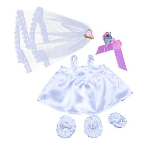 Tenue de Pom-Pom Girl Rose - La tenue idéale pour les peluches personnalisées ! Transformez votre Teddy en un inséparable compa