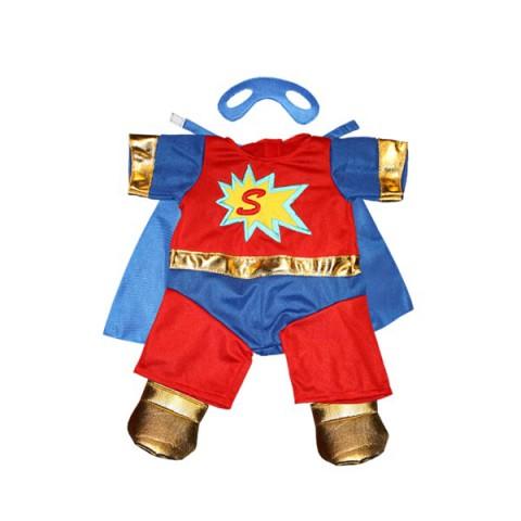 Super Ours & Masque - La tenue idéale pour les peluches personnalisées ! Transformez votre Teddy en un inséparable compa
