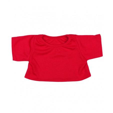 T-shirt Rouge pour peluche de 40 cm