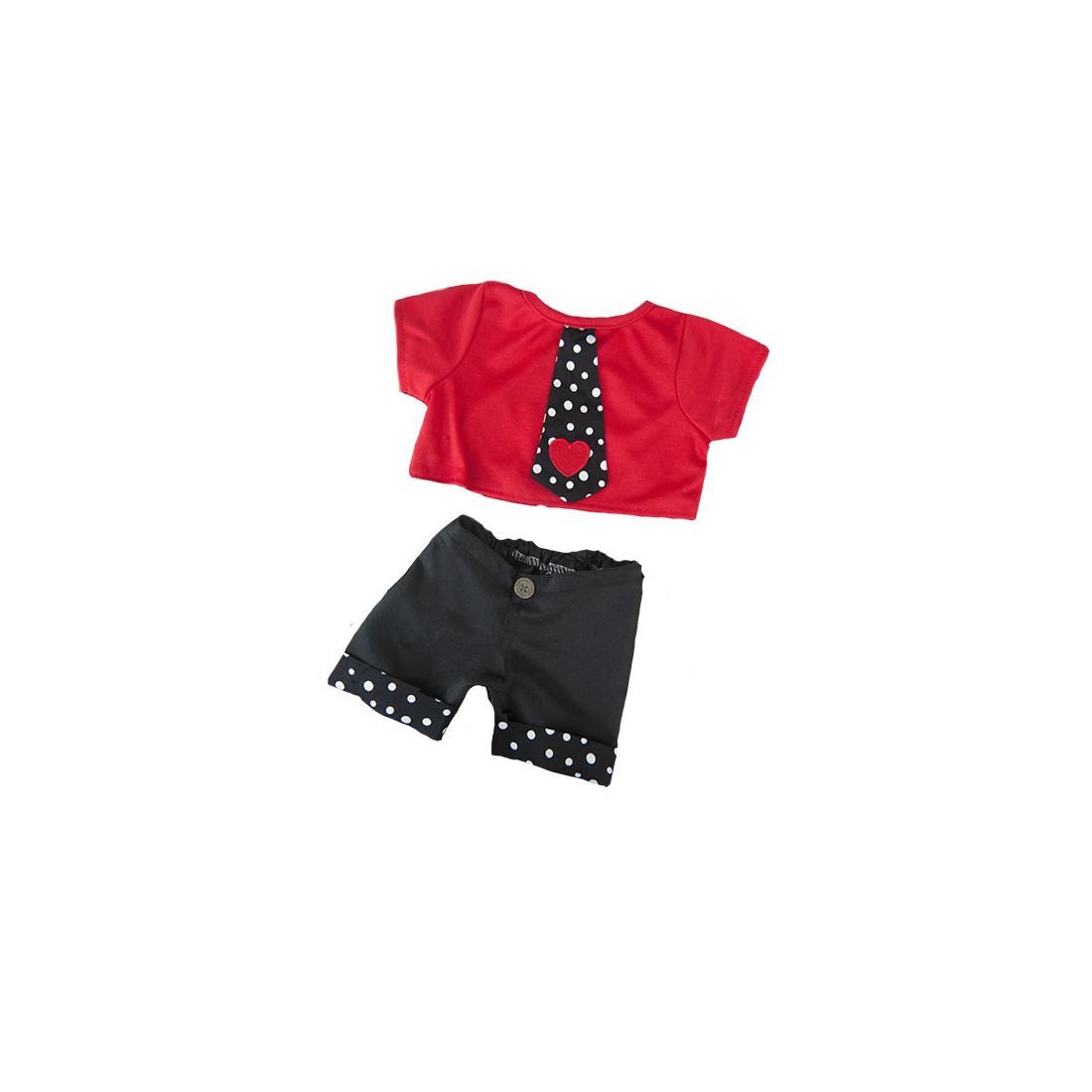 """Tenue de soirée """"cool""""  40 cm - La tenue idéale pour les peluches personnalisées ! Transformez votre"""