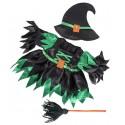 Costume de sorcière méchante,  40 cm  - La tenue idéale pour les peluches personnalisées !