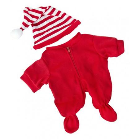 Pyjama rouge + bonnet