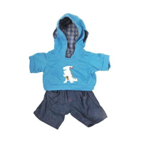 Jogging Dinosaure 40 cm - La tenue idéale pour les peluches personnalisées ! Transformez votre