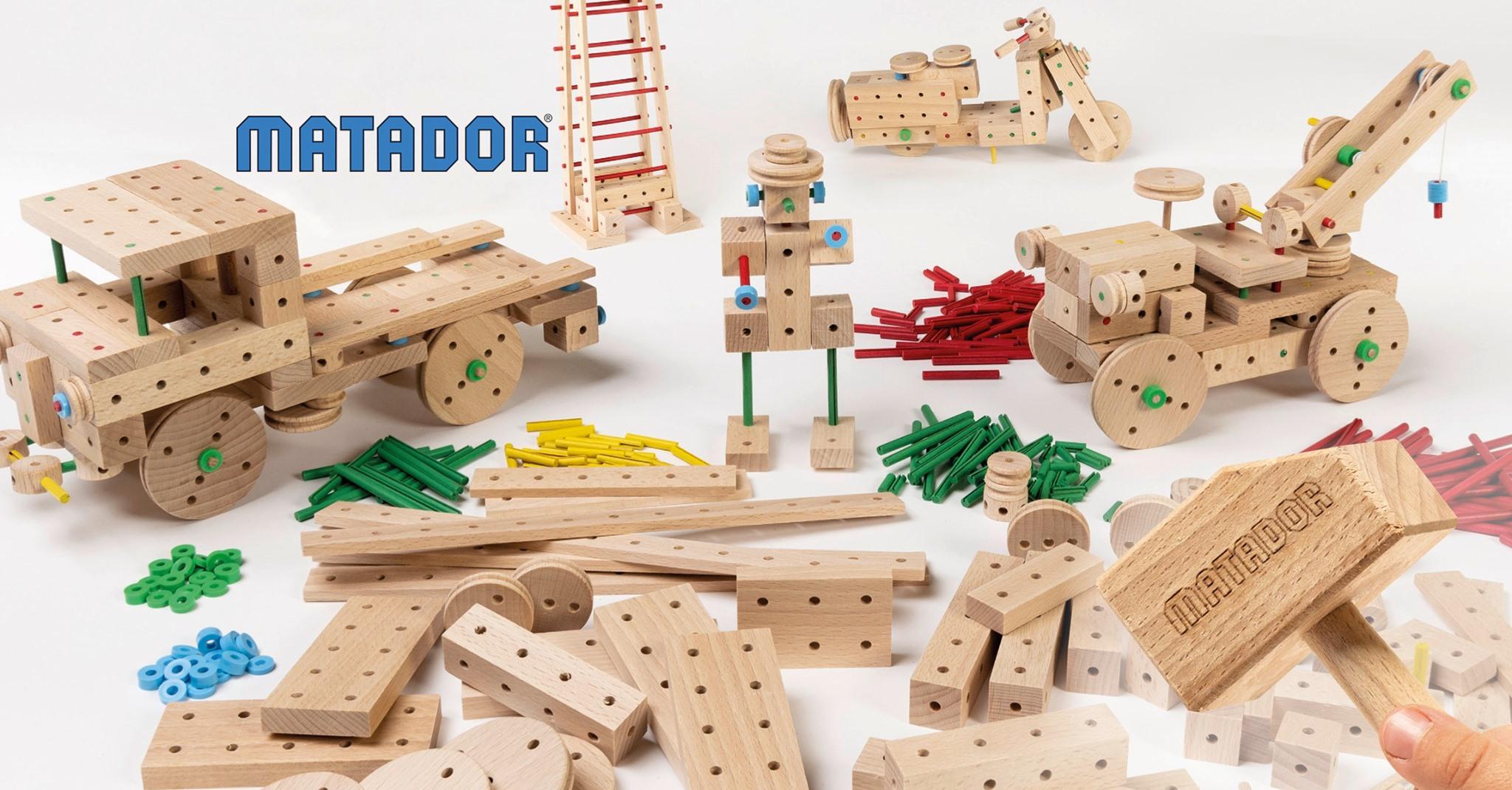 jeux construction bois Matador