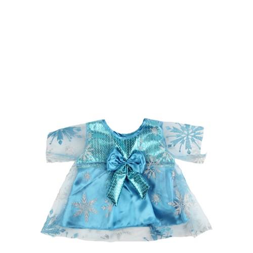 Robe bleue de princesse