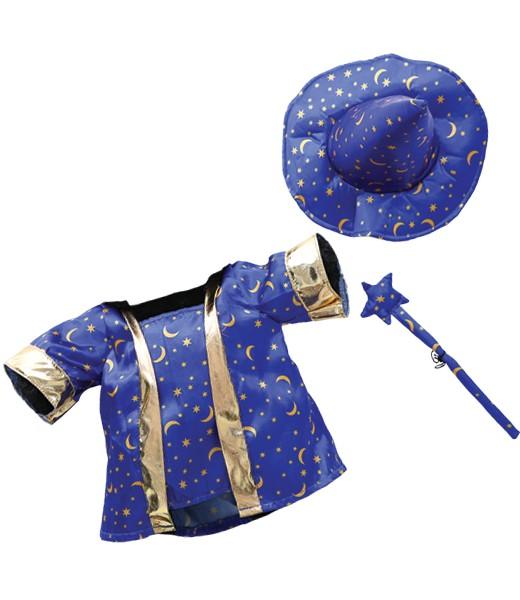Costume de magicien avec baguette