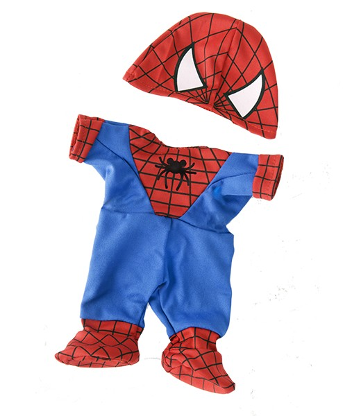 Tenue Spidey l'ours