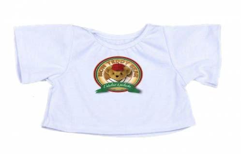 T-shirt personnalisé Peluche