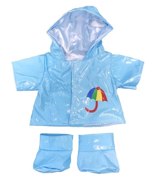 Ensemble de pluie bleu 40 cm