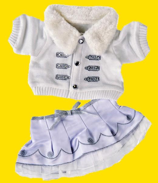 Robe d'hiver blanche